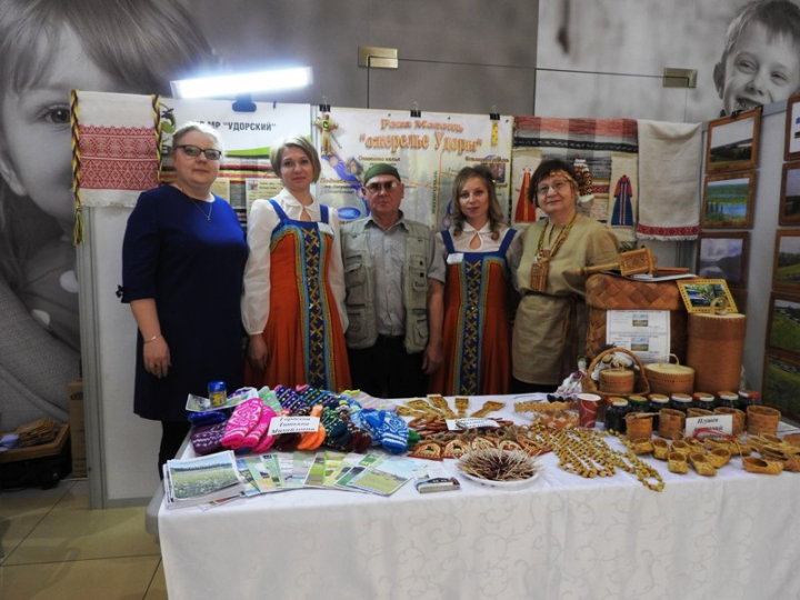 Удорский район принял участие в выставке-ярмарке «Отдыхаем в Коми»